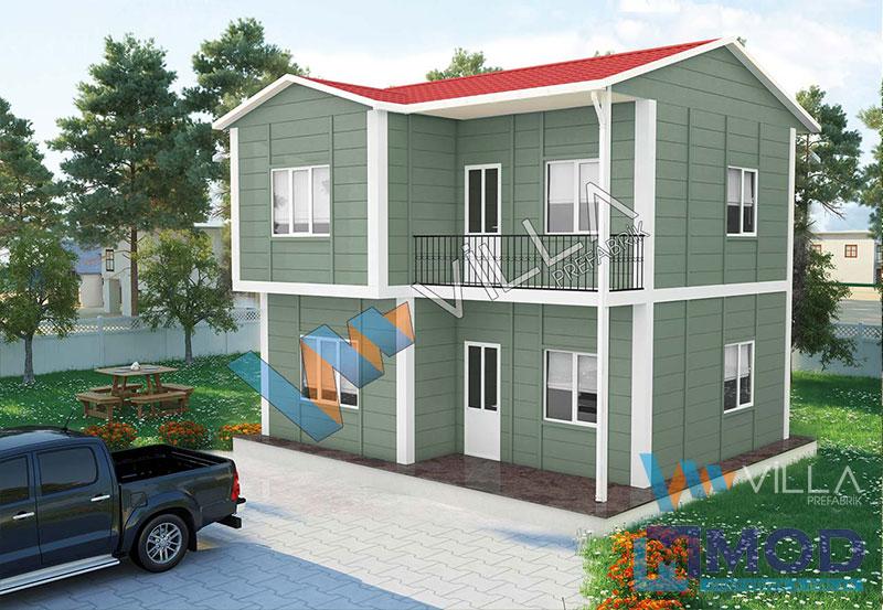 Prefabrik Ev 105 m² Çift Katlı