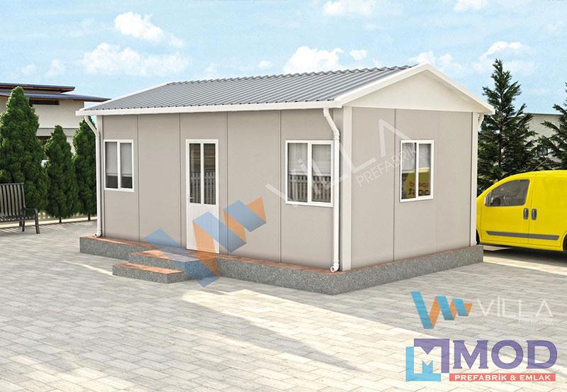Prefabrik Ofis 25 m²