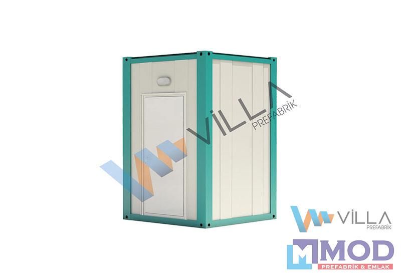 WC ve Duş Konteynerler 2 m²