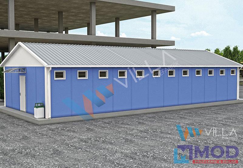 WC ve Duş Kabinleri 117 m²