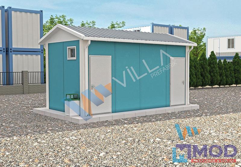 WC ve Duş Kabinleri 14 m²