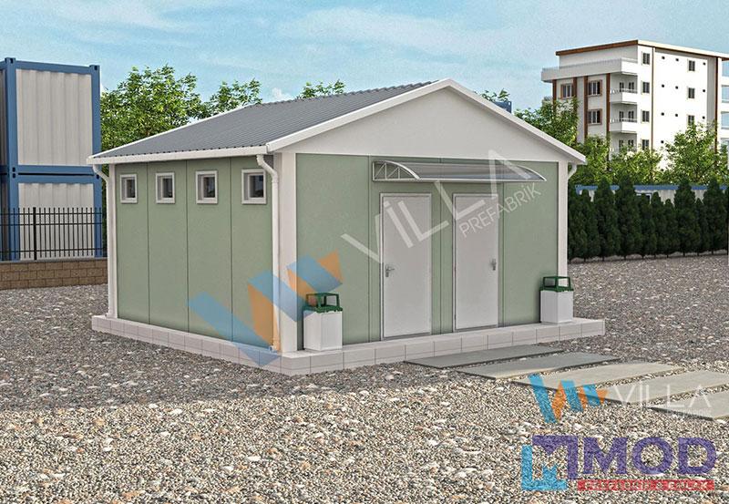 WC ve Duş Kabinleri 27 m²