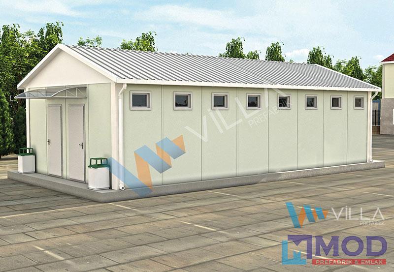 WC ve Duş Kabinleri 53 m²