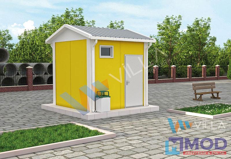 WC ve Duş Kabinleri 7 m²