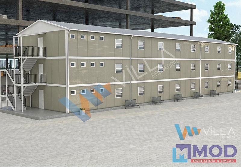 Prefabrik Yatakhane 742 m²