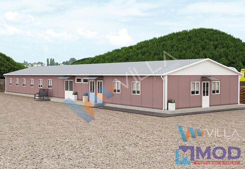 Prefabrik Yemekhane 335 m²