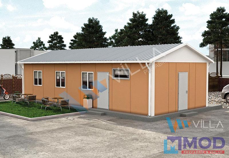 Prefabrik Yemekhane 59 m²