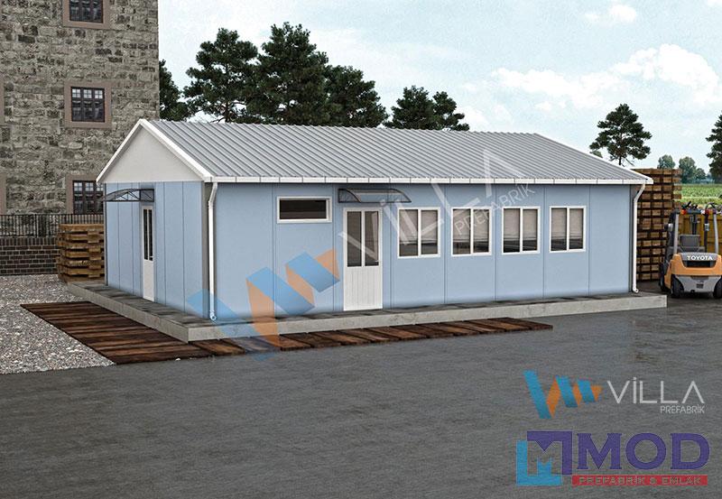 Prefabrik Yemekhane 66 m²
