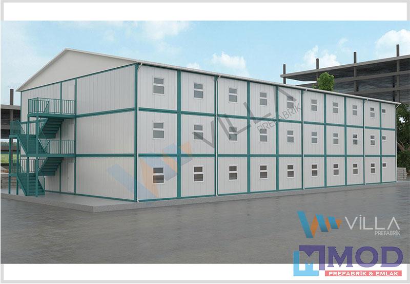 Konteyner Yatakhane 1440 m²